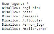 Robots.txt File Blocking CSS Files