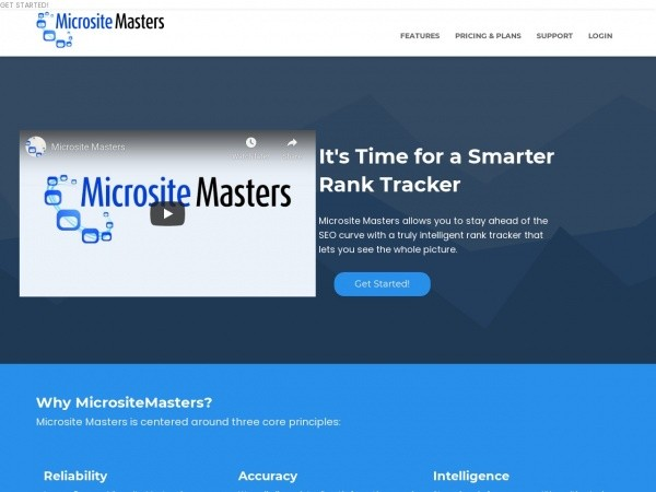 Microsite Masters Review