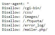 Robots.txt Blocking CSS Files